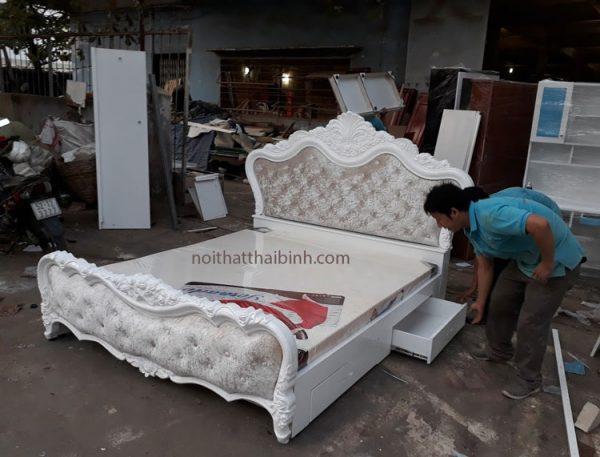 Giường ngủ hiện đại đẹp