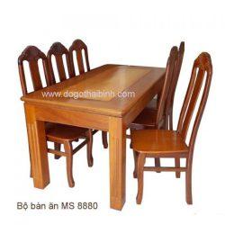 Bàn ăn gỗ MS 8880 giá bộ 1m8 : 18.000.000