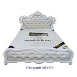 Giường ngủ cao cấp MS 8973 giá 1m6 : 12.000.000
