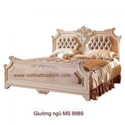Giường ngủ cao cấp  MS 8989 giá 1m6 : 11.500.000