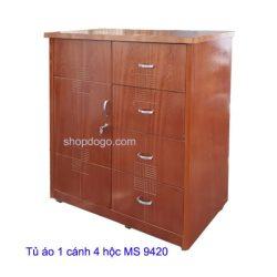 Tủ áo 1 cánh 4 hộc MS 9420
