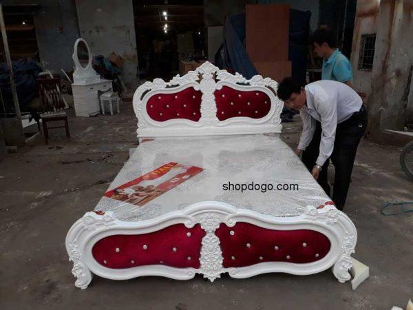 Giường ngủ hiện đại tại tphcm