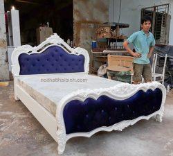 Bộ giường ngủ tân cổ điển tại TPHCM