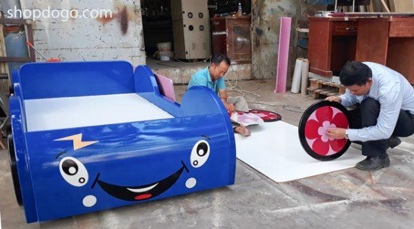 Giường xe hơi cho bé