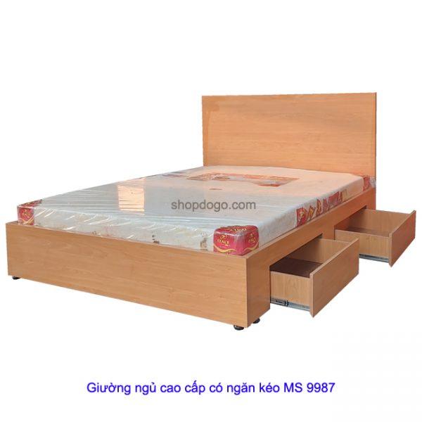 Giường ngủ cao cấp có ngăn kéo