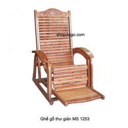 Ghế gỗ thư giản